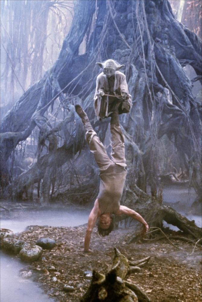 yoda's training